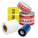 Machine Grade Custom Printed Tape One Color Five Case Minimum